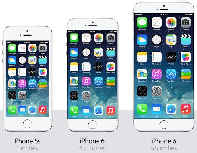 iPhone6とGALAXY S5はベゼルレスに!?ディスプレイに指紋センサー搭載の可能性も!