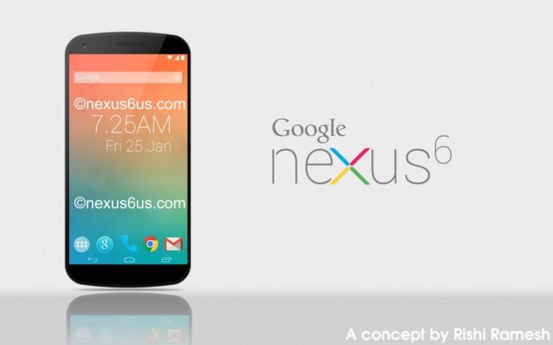 Nexus 6は2560×1440のディスプレイを搭載し、6月に発表か!?