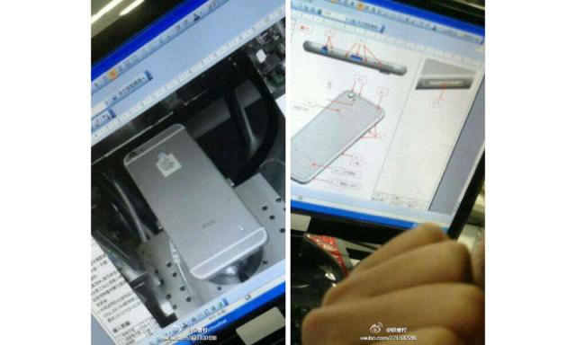 「iPhone6」のプロトタイプと思われる写真が流出!