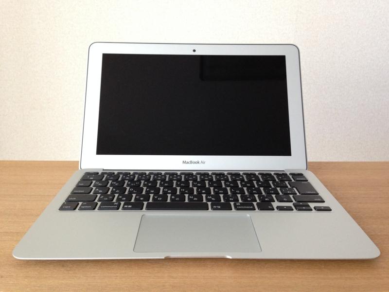 親のMacBook Air 11インチ(Mid 2013)が届いたので勝手に開封の儀をやってみた