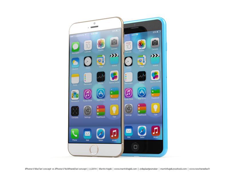 「iPhone6」の筐体に関する新たな情報-曲面ガラスを一部に採用し、背面はツートンカラーではなくなる!?