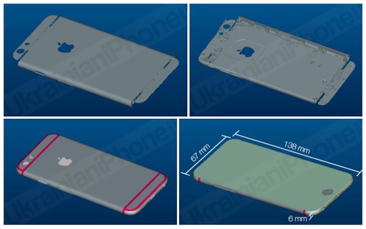 「iPhone6」のレンタリング画像がリーク!流出したシリコンケースとサイズがほぼ一致!?