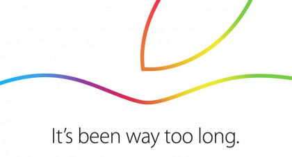 Apple、10月16日にスペシャルイベントを開催することを正式発表!