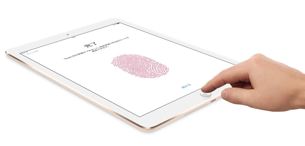 iPad Air2-TouchID