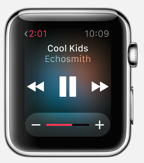 Apple Watch-music