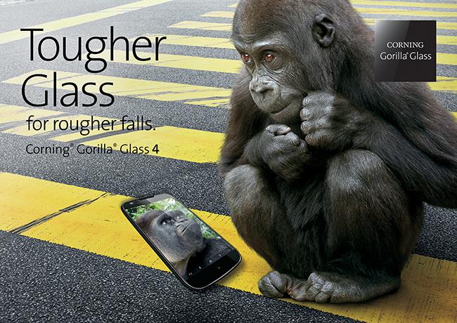 Corning、従来よりも薄くても高い強度を誇る「ゴリラガラス4」を発表!次期iPhoneに搭載か?
