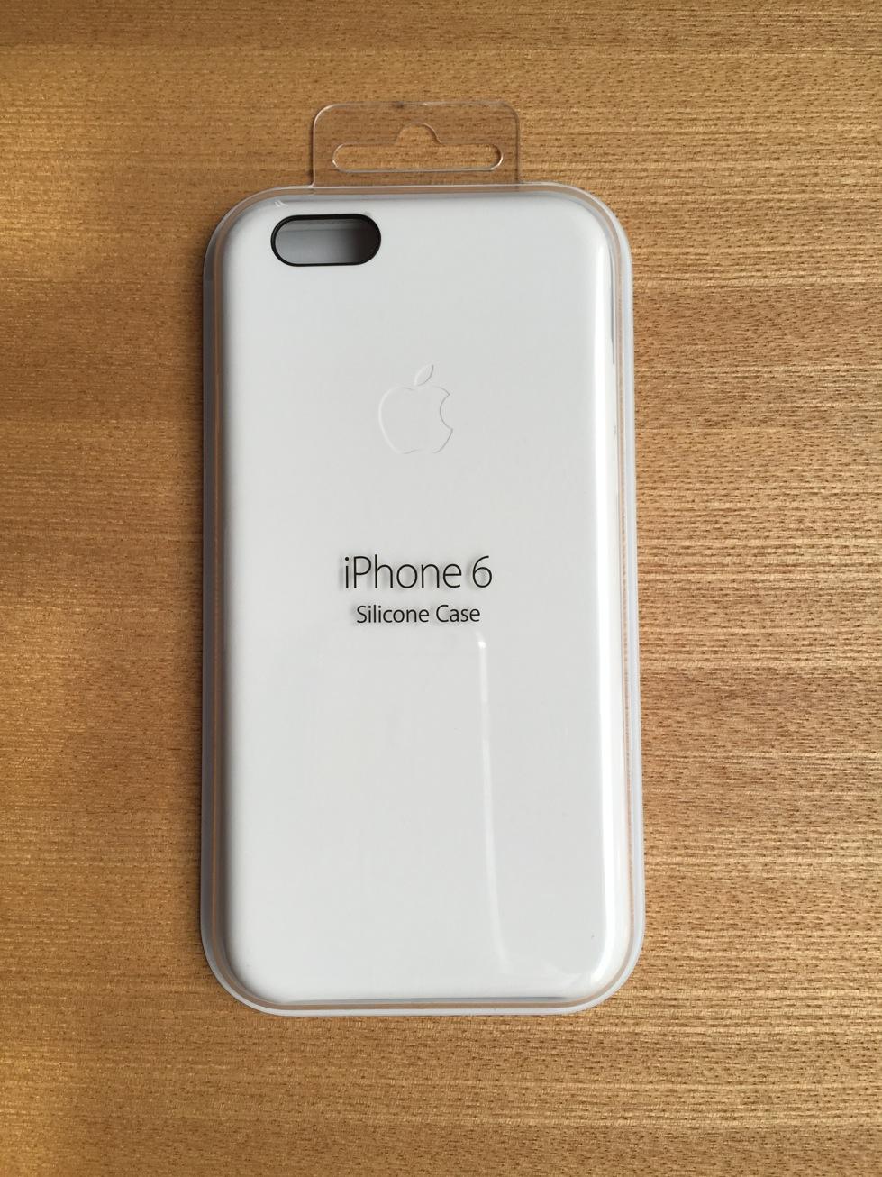 iPhone6純正シリコンケース(白)の外観やサイズ、使ってみて思ったことなど