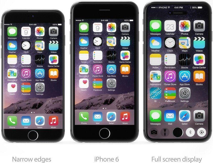 狭額縁化、前面フルスクリーン、2つのiPhone7のコンセプトデザインが公開