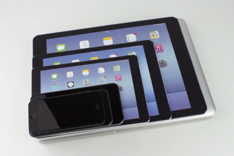 12.2インチiPadのモックアップとiPadやMacBookなどの大きさを比較した動画が公開!