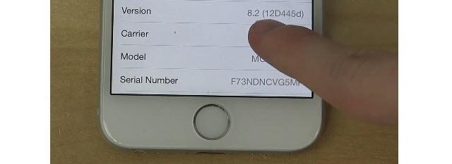 iPhone6で「iOS 8.2 beta 2」を動作させている動画が公開!「iOS 8.2」は軽快で安定している!?