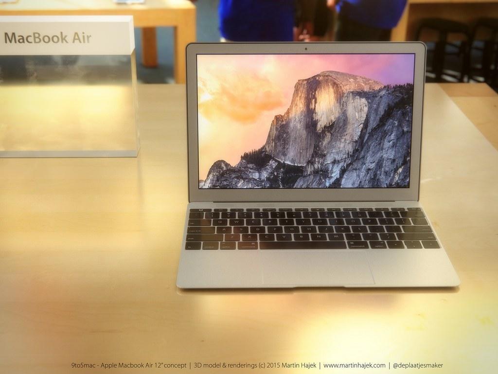 12インチ新型MacBookのコンセプト画像からUSB端子が一つだけな理由を推測してみた