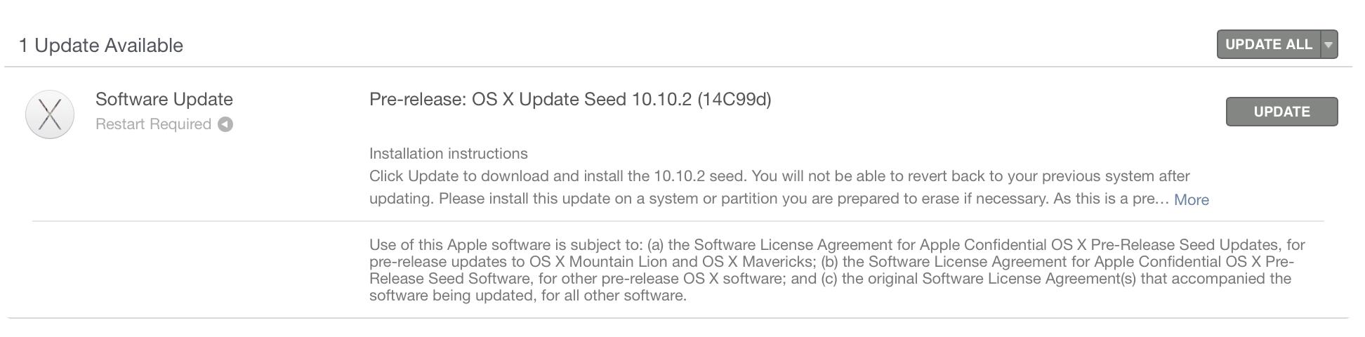 「OS X Yosemite 10.10.2」のベータ版5が開発者向けに配信開始!いつになれば正式にリリースされるのか?