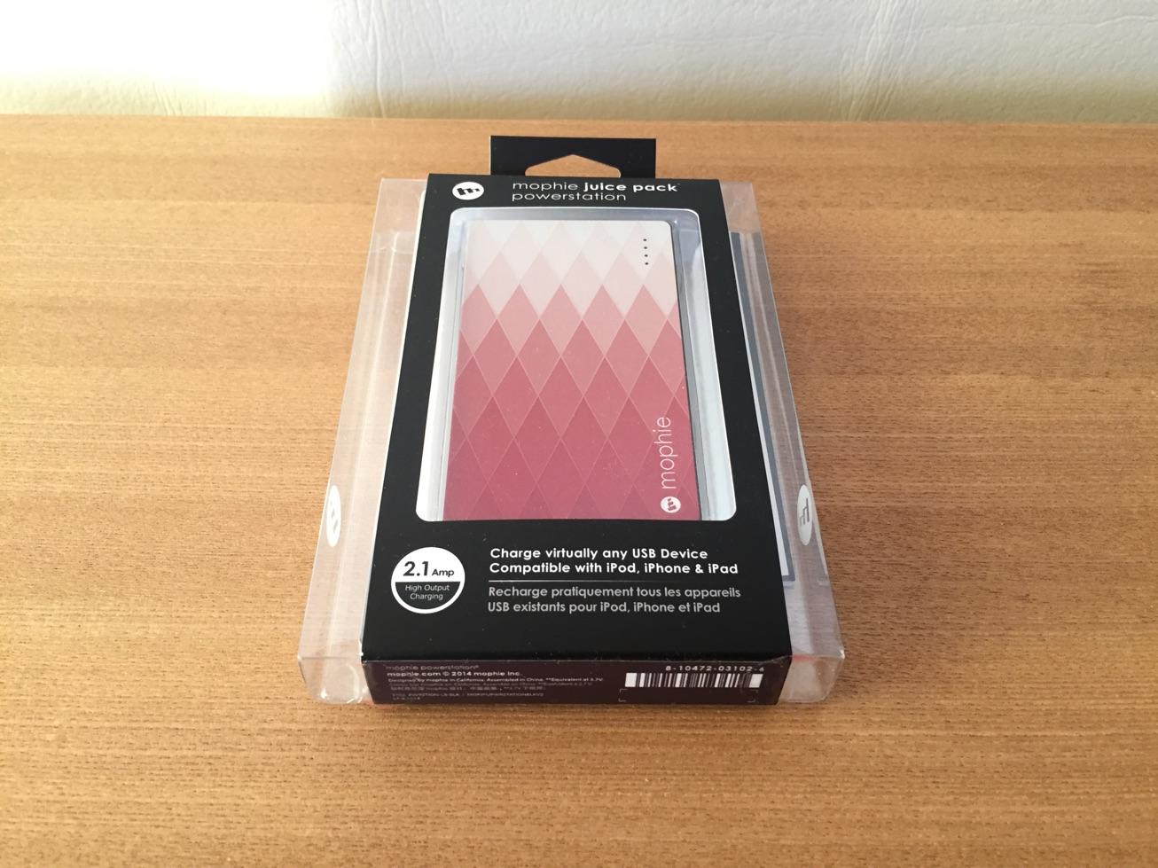 2015年Lucky Bagに入っていたモバイルバッテリーが機能性、携帯性に優れてかなり便利だった件