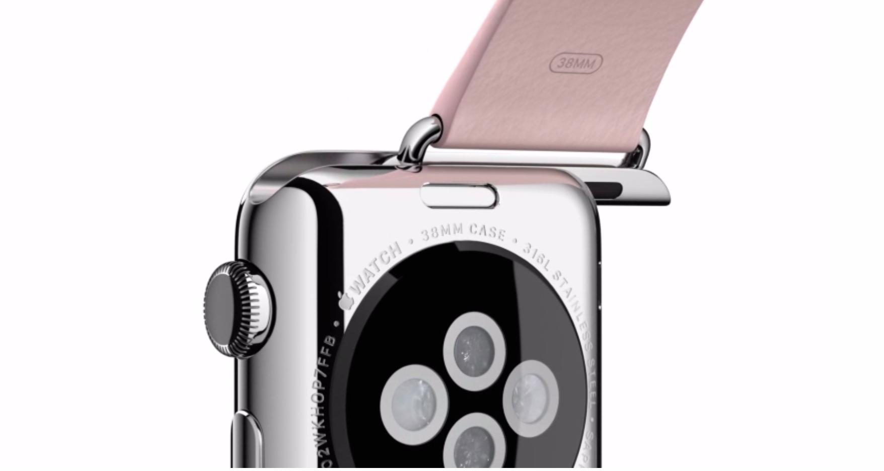 Apple Watch用の多くのバンドはApple Watchと同時に販売か