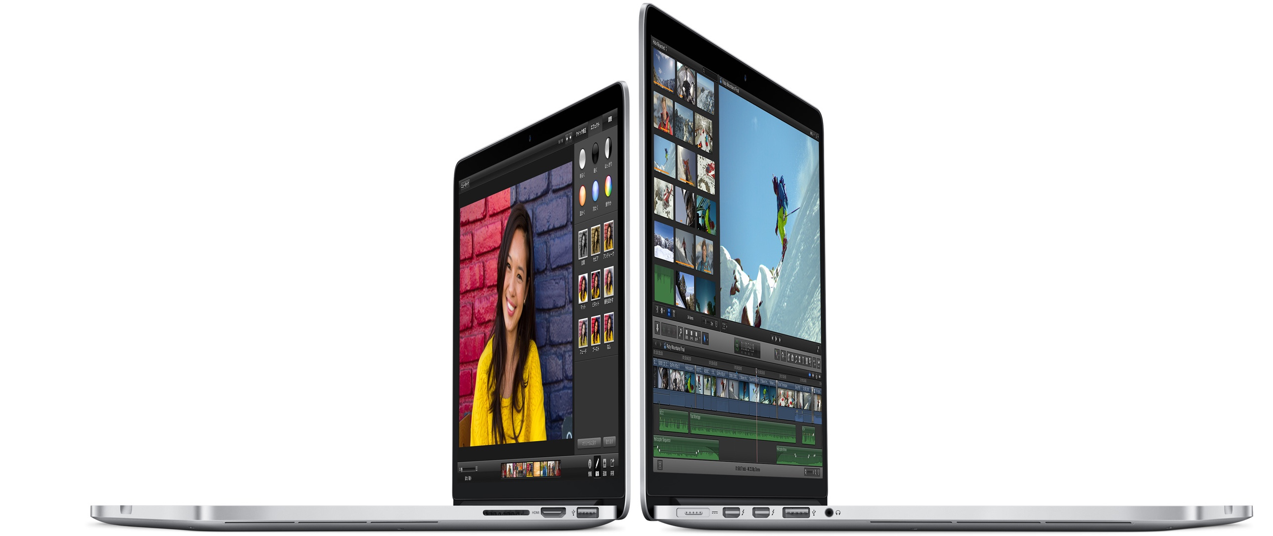 MacBook Air/Pro Retina 13インチがアップデート!Proはバッテリー駆動時間が増え、トラックパッドにForce touch搭載!