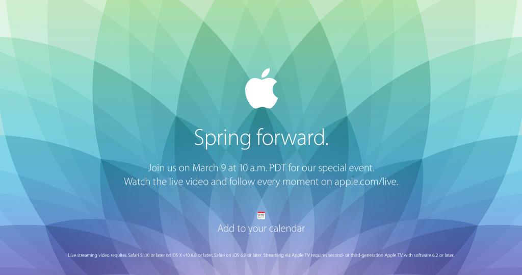 Special event-Spring forward