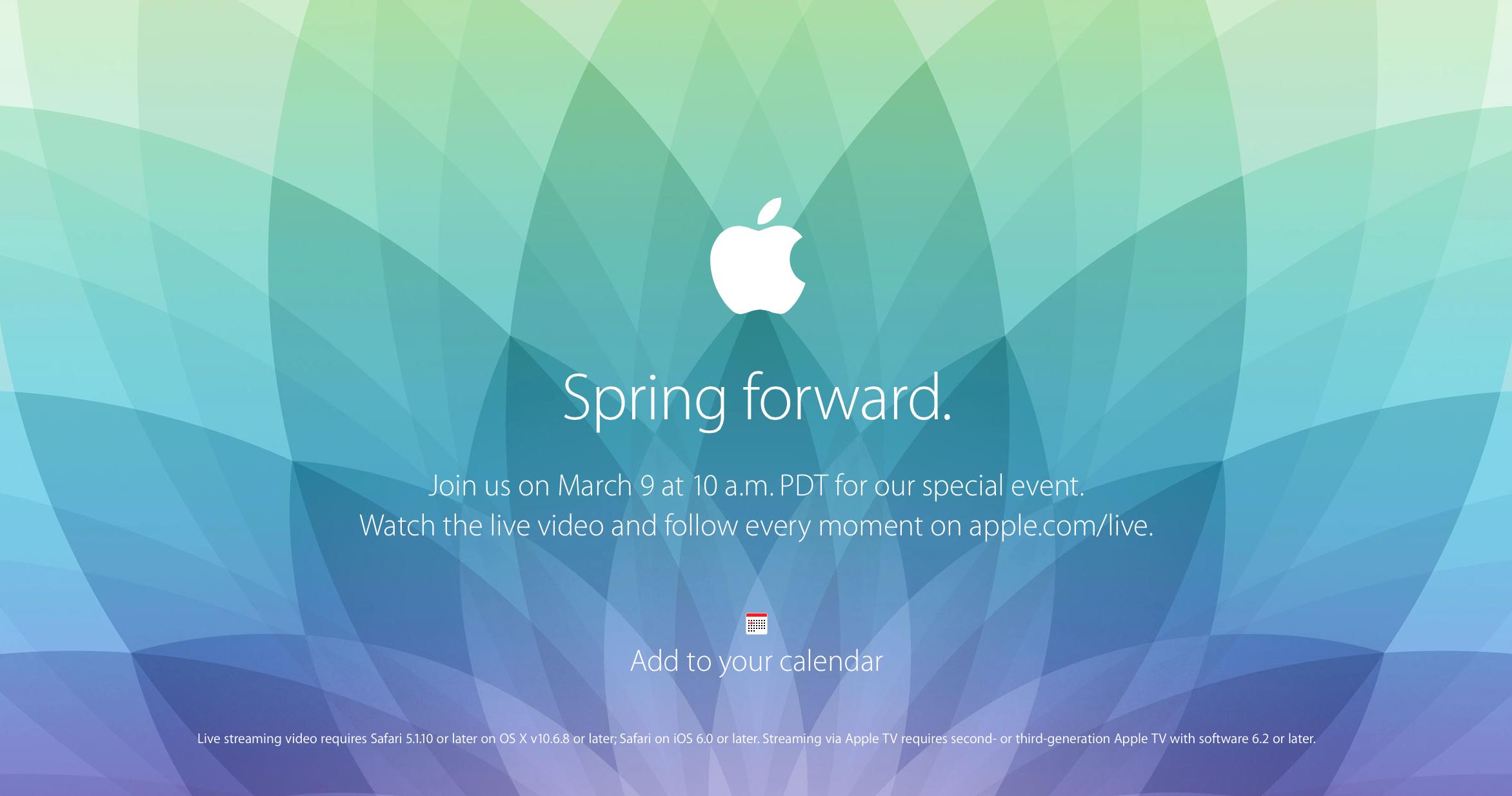 Appleのスペシャルイベント開始直前!発表が予想される製品一覧