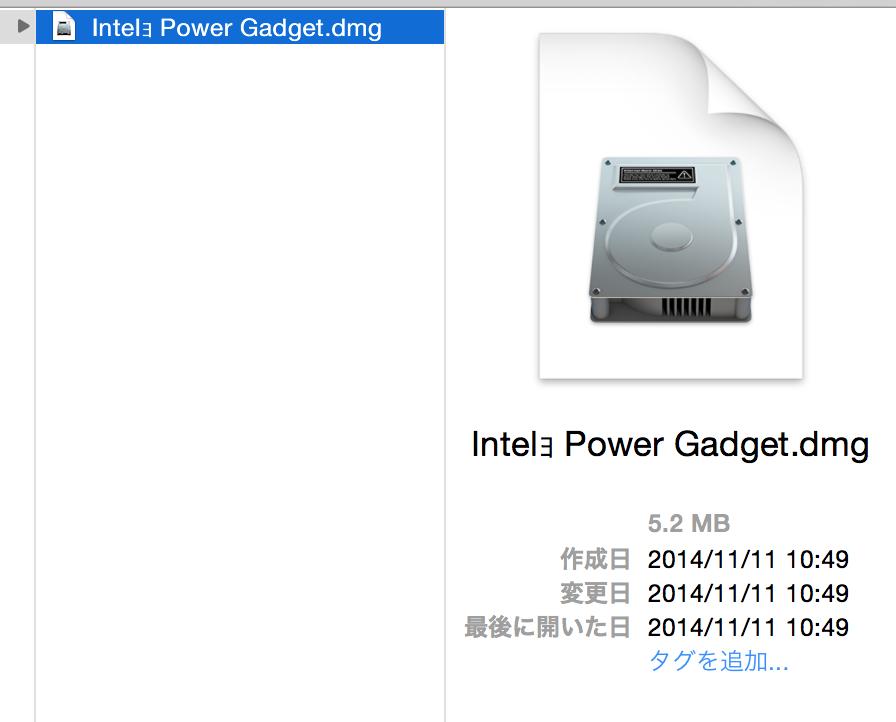 Intel Power Gadget-2