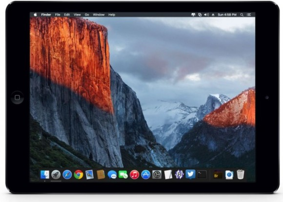 el capitan ipad