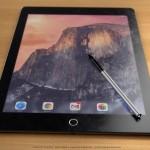 iPad Proは2732×2048ピクセルで、感圧式スタイラスペンを付属し、10月発売か?