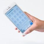 片手操作を快適に! iPhone6のホームボタン横に戻るボタンが追加できる強化ガラスがすごい!
