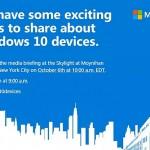 Surface Pro 4が発表か?マイクロソフト10月6日にイベント開催へ!
