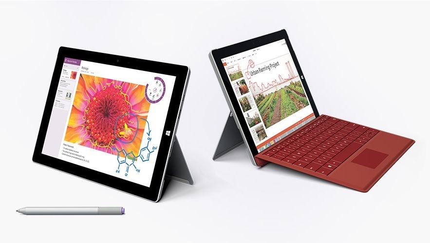 Surface 3-4