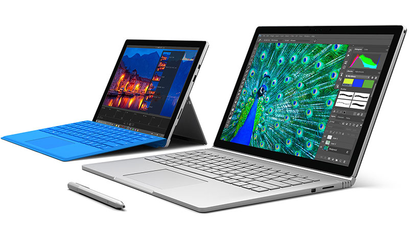 Surface Book & Pro 4