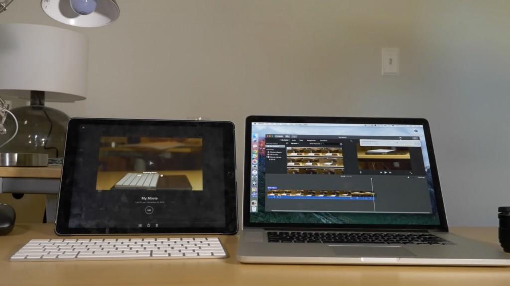 iPad Pro vs MBPR15 2013
