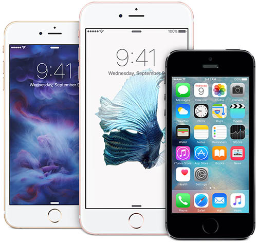 iPhone 6s&6s Plus&5s