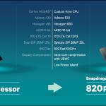 Snapdragon 820はA9チップに劣る?CPU,GPUベンチマークスコアが公開!