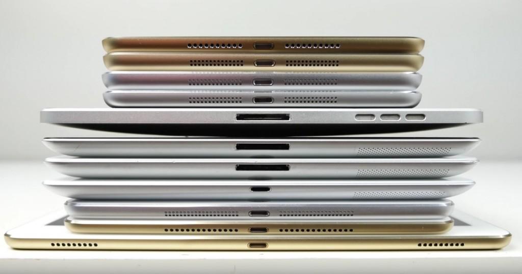 iPad comparison 2015