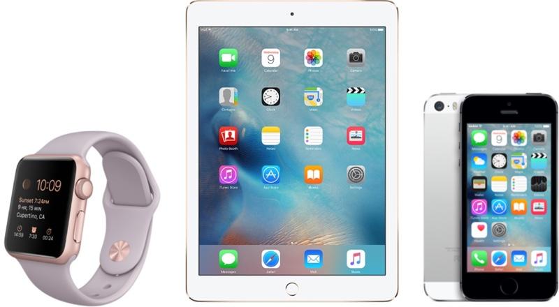Apple watch&iPad&iphone