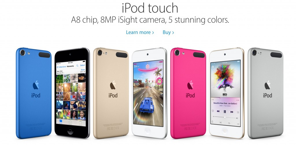 iphone 6c ipod