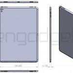 「iPad Air 3」の詳細な図面が流出か!?サイズはほぼ変わらず多くの新機能が追加される?