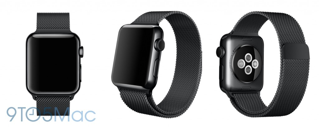 Apple Watch black milanese