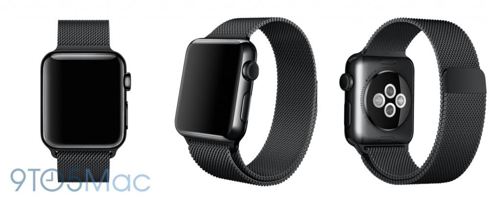 Apple Watch black milanese