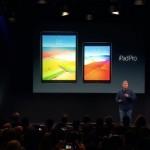 9.7インチiPad Proが正式発表!超高画質ディスプレイ、A9Xチップ搭載!!
