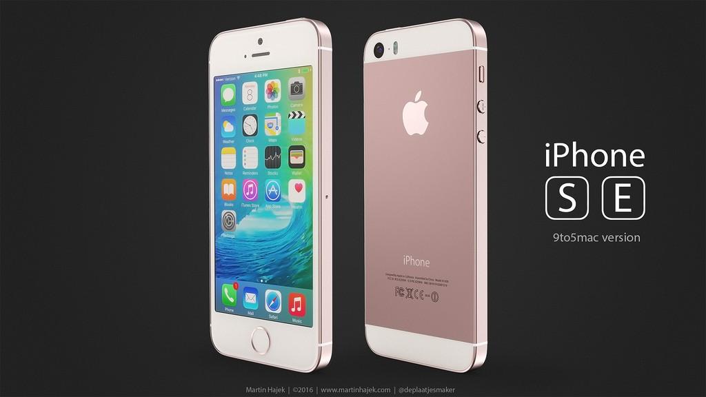 iPhone se concept-5