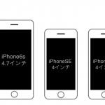 iPhone SE/6s Plus/6s/5s/4sの大きさ比較まとめ