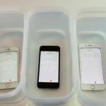 iPhone SEは5sより耐水性能が改善か!?15分〜20分は水に耐える?