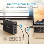 MacBookを29W充電可能なUSB-C対応充電器「Anker PowerPort+ 5 USB-C Power Delivery」が登場!