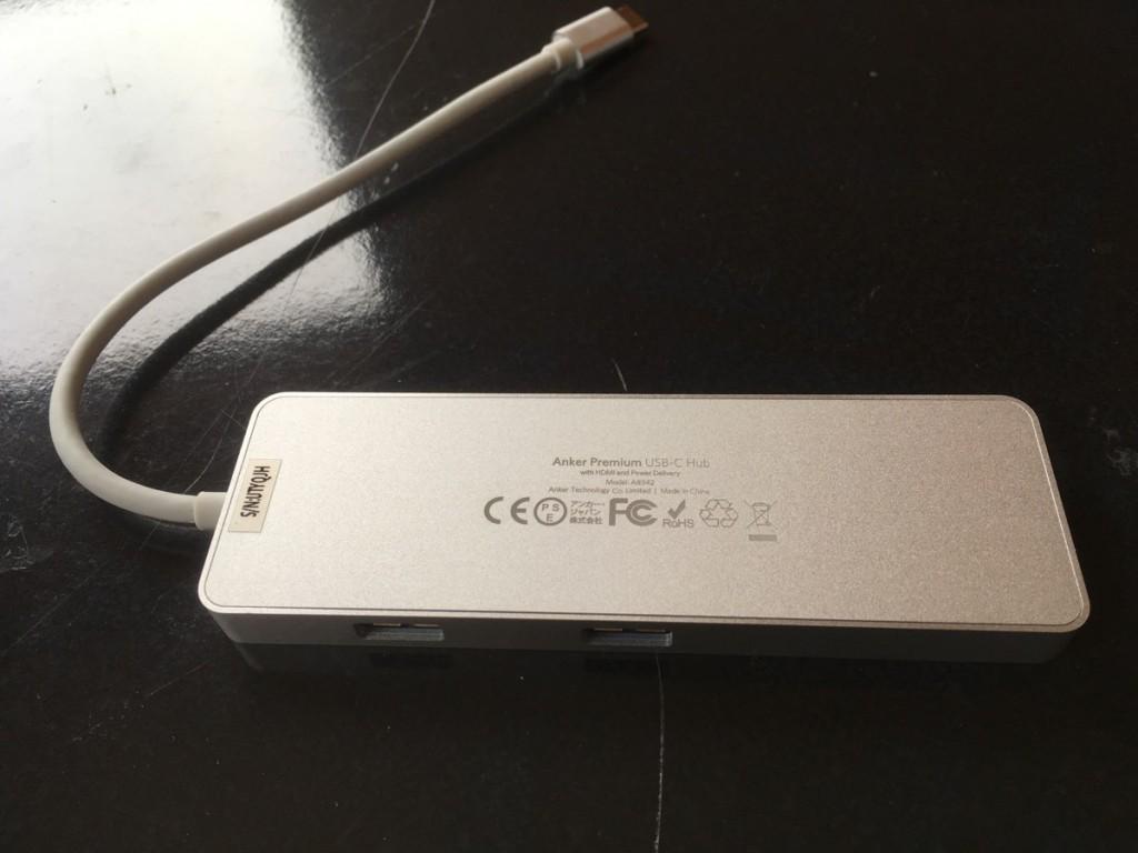 Anker USB-C hub-10