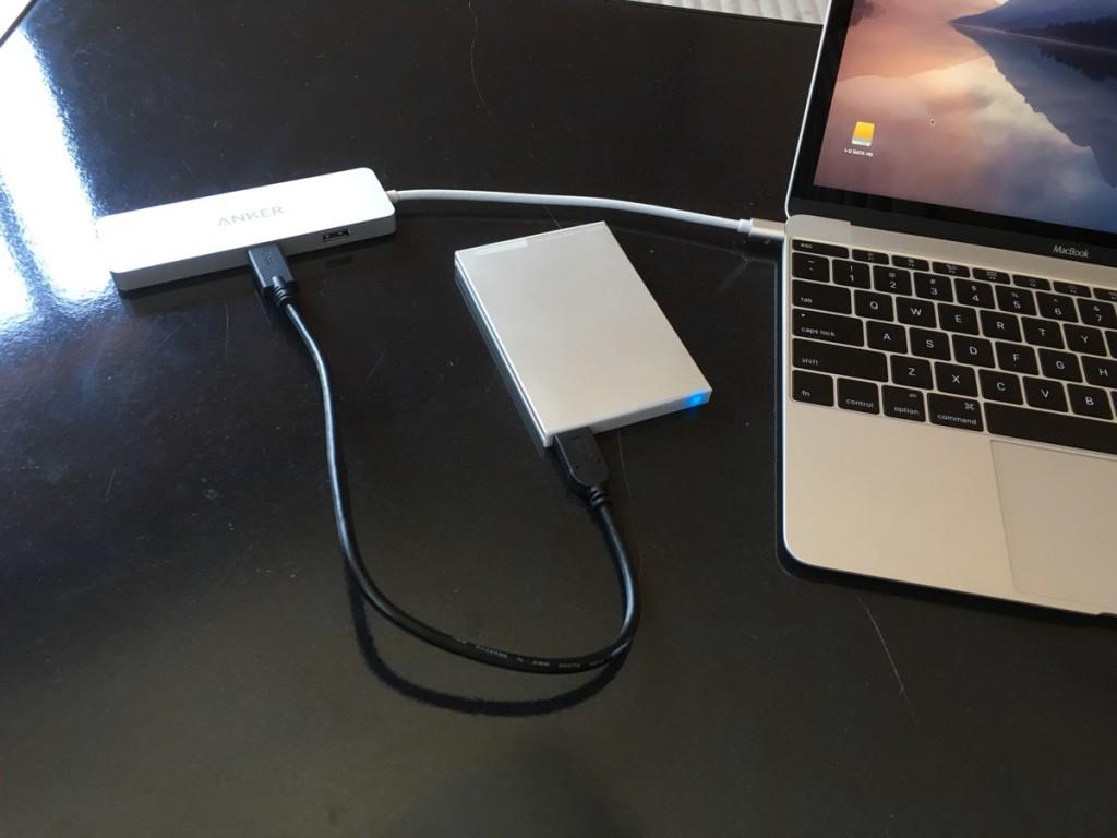 Anker USB-C hub-15
