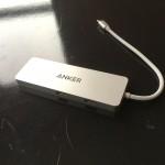 USB-CをUSB3.0×2、HDMIに拡張、充電もできるAnkerプレミアムUSB-Cハブ購入・外観レビュー