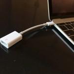 MacBook用アダプタは意外とこれで十分?純正USB-C – USBアダプタ購入&外観レビュー