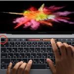 TouchBar左端の空白にはタッチセンサーがあり、ESCキーなどが操作可能な模様
