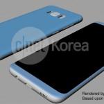 Galaxy S8は5.8インチなのに4.7インチiPhone 7とほぼ同じ横幅!?詳細なレンダリング画像が流出