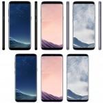 Galaxy S8/S8 Plusの3色のプレス画像が流出!価格は10万円近くになる?