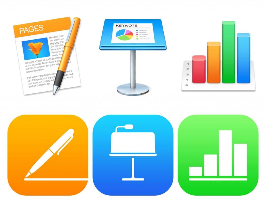 iWork Mac-iOS